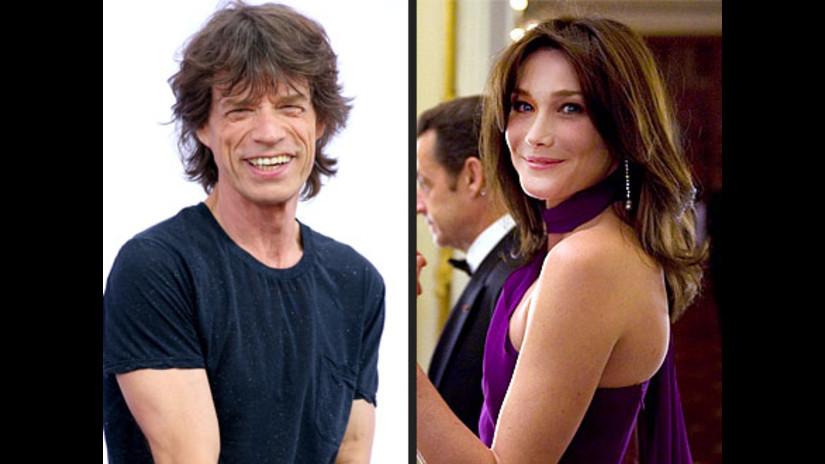 Mick Jagger Carla Bruni