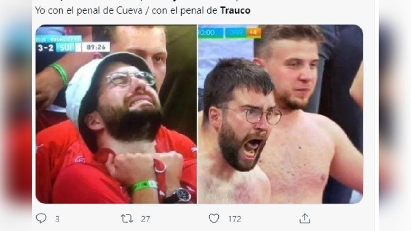 Los memes que tienes que ver del partido Perú vs. Paraguay.
