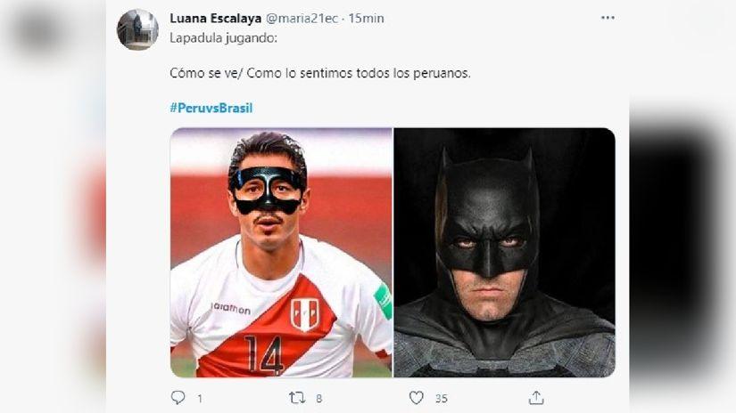 Te mostramos los mejores memes del partido Perú vs. Brasil.