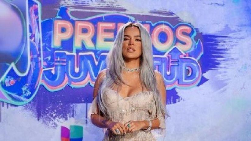 """El mensaje de Karol G en los Premios Juventud 2021: """"Nos respetan, nos dan el lugar, sumamos"""" [VIDEO]"""