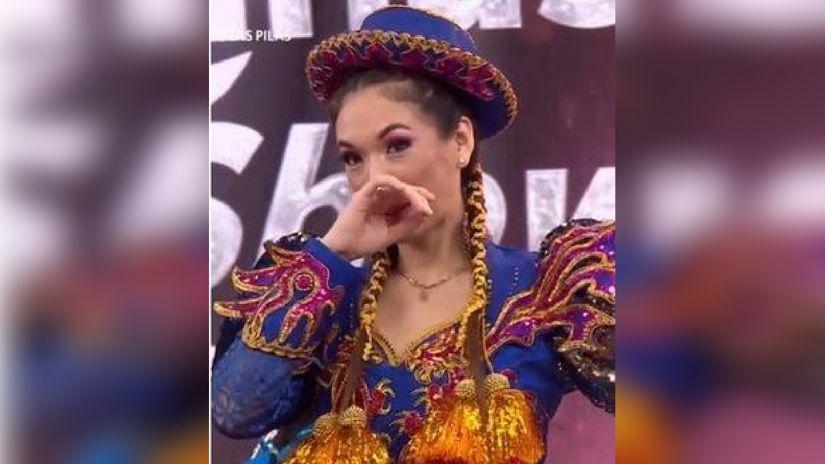 Tras ser sentenciada en Reinas del Show, Jazmín Pinedo le cerró la puerta a reportero [VIDEO]