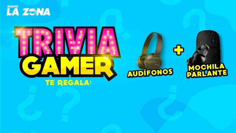 Gana unos audífonos y una mochila parlante en Trivia Gamer de Radio La Zona