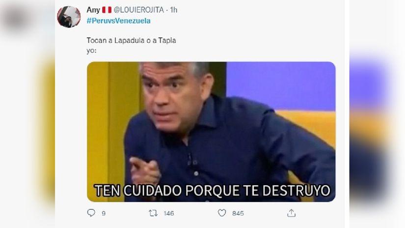 Estos son los mejores memes del partido Perú vs. Venezuela.