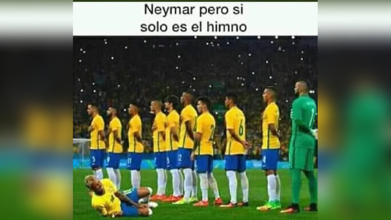 Aquí te enseñamos los mejores memes del partido Perú vs. Brasil.