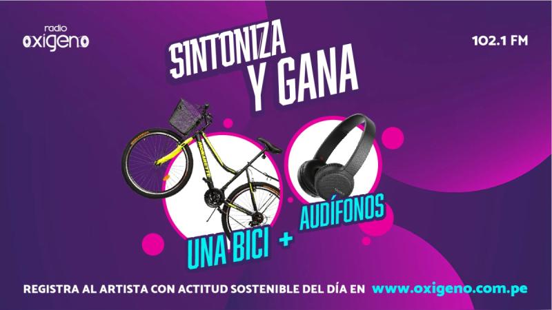Radio Oxígeno premia tu sintonía con una bici y audífonos