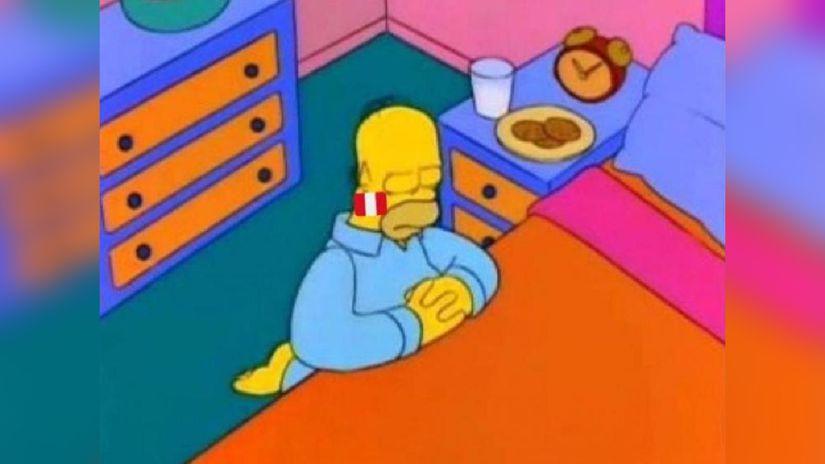 Hoy todos los peruanos somos Homero Simpson
