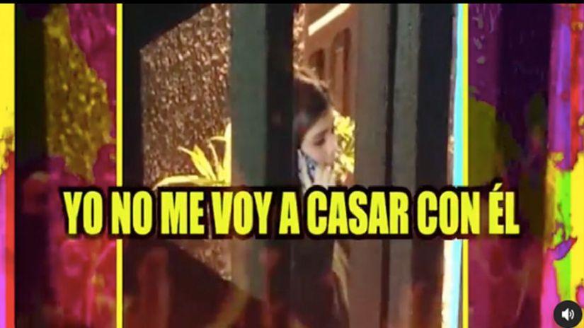 """María Fe a Josimar: """"Dice que viene a casarse conmigo, se casará con mi alma"""""""