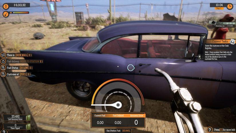 Gas Station Simulator: De los videojuegos más comprados en donde trabajas en un grifo