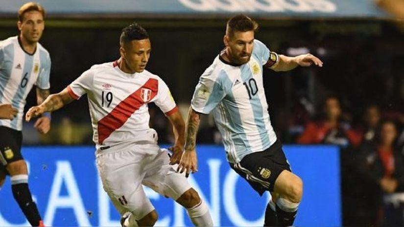 Lionel Messi a selección peruana: