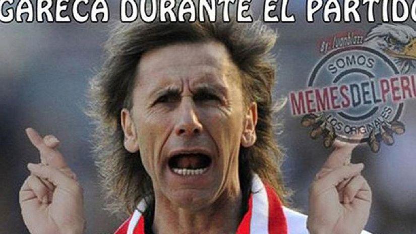 Rircardo Gareca es uno de los protagonistas de los memes.
