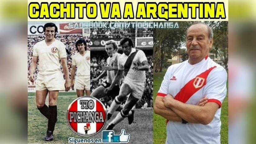 En cada partido entre Perú y Argentina, recordamos a Cachito Ramírez