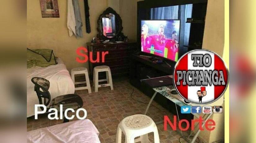 Todo listo para ver a la selección peruana
