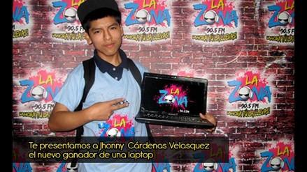 Jhonny Cárdenas Velasquez se llevó su laptop