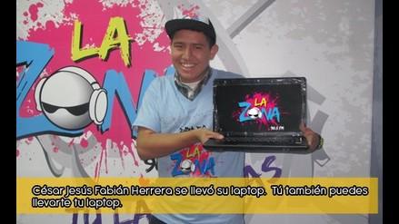 César Jesús Fabián Herrera ya Chapo su Laptop
