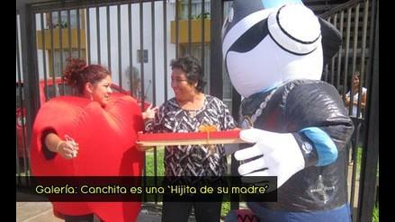 Mira la sorpresa a la mamita de Canchita