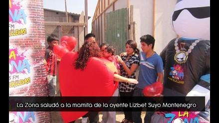 La Zona saludo a la mamita de Lizbet Suyo Montenegro
