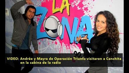 Mira a los chicos de Operacion Triunfo en la radio