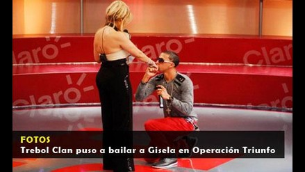 Trebol Clan puso a bailar a Gisela en Operación Triunfo