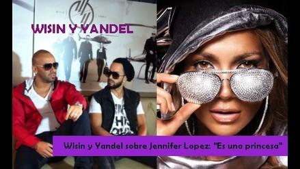 Wisin y Yandel sobre Jennifer Lopez: