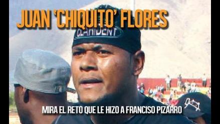 Chiquito Flores reto a Francisco Pizarro