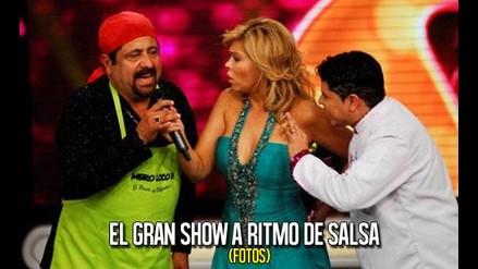 Héroes bailaron al ritmo de salsa en El Gran Show