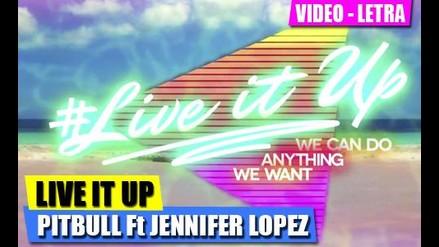 ESTRENO - LIVE IT UP - JENNIFER LOPEZ Y PITBULL