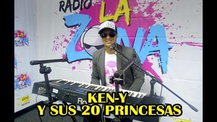 KEN-Y Y SUS 20 PRINCESAS EN RADIO LA ZONA