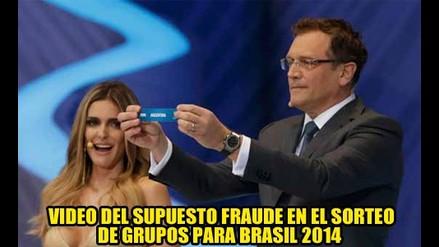 VIDEO DEL SUPUESTO FRAUDE EN EL SORTEO PARA BRASIL 2014
