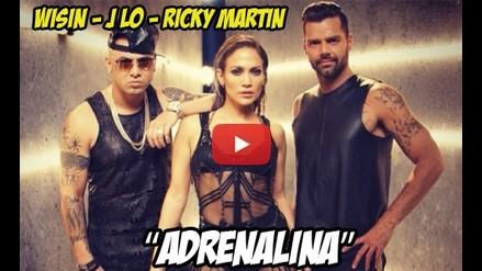 NUEVO - ADRENALIMA - WISIN - J LO - RICKY MARTIN
