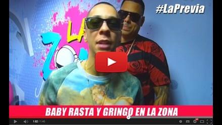 LA PREVIA CON BABY RASTA EN RADIO LA ZONA