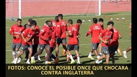 Fotos: El posible once de Perú para enfrentar a Inglaterra