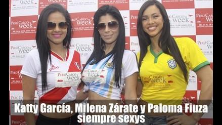 Katty García, Milena Zárate y Paloma Fiuza siempre sexys
