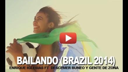 BAILANDO - ENRIQUE IGLESIAS  FT DESCEMER  Y GENTE DE ZONA - BRASIL 2014