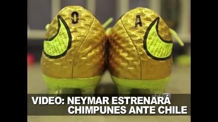 VIDEO: NEYMAR ESTRENARÁ CHIMPUNES ANTE CHILE