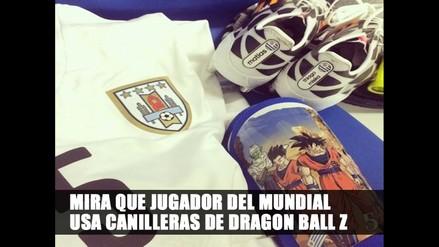 DESCUBRE QUE JUGADOR USA CANILLERA DE DRAGON BALL Z