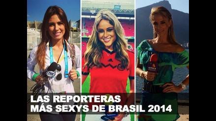 CONOCE A LAS REPORTERAS MÁS SEXYS DE BRASIL 2014