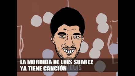 LA MORDIDA DE LUIS SUAREZ YA TIENE CANCIÓN