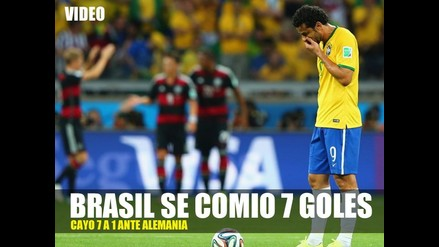 BRASIL FUE HUMILLADO  7 A 1 POR ALEMANIA