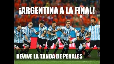 ARGENTINA PASO POR PENALES A LA FINAL DEL MUNDIAL