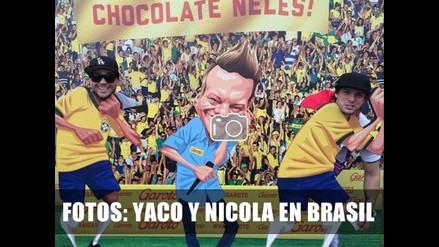 FOTOS DE NICOLA, YACO Y LA MAMACHA EN BRASIL