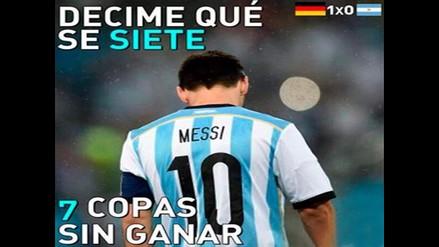 MIRA LOS MEMES DE LA FINAL ENTRE ALEMANIA Y ARGENTINA