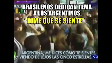 BRASILEÑOS CREAN CANCIÓN PARA ARGENTINA