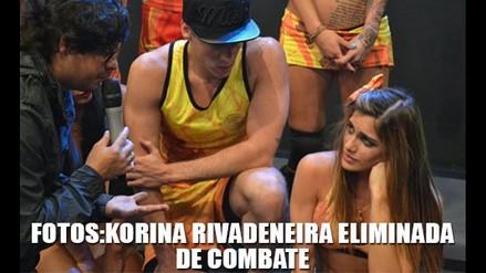 FOTOS: KORINA RIVADENEIRA FUE ELIMINADA DE COMBATE