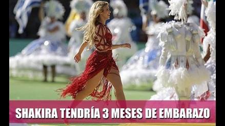 SHAKIRA TENDRÍA TRES MESES DE EMBARAZO