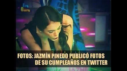 Jazmín Pinedo subió fotos de su cumpleaños en twitter - Fotos