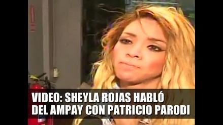 Sheyla Rojas habló del Ampay con Patricio Parodi - VIDEO