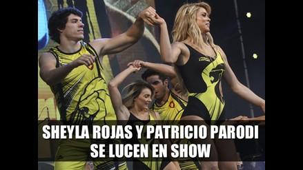 Sheyla Rojas y Patricio Parodi se lucen en show