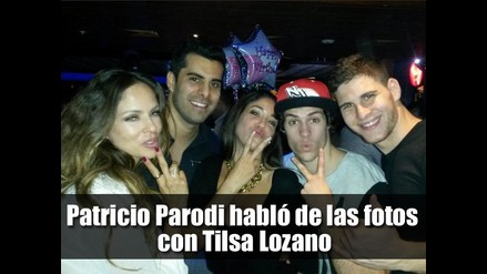 Patricio Parodi habló de las fotos con Tilsa Lozano