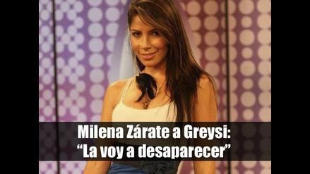 Milena Zárate a Greysi: