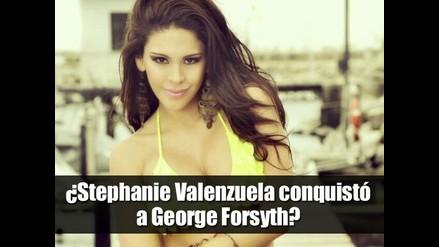 ¿Stephanie Valenzuela conquistó a George Forsyth?